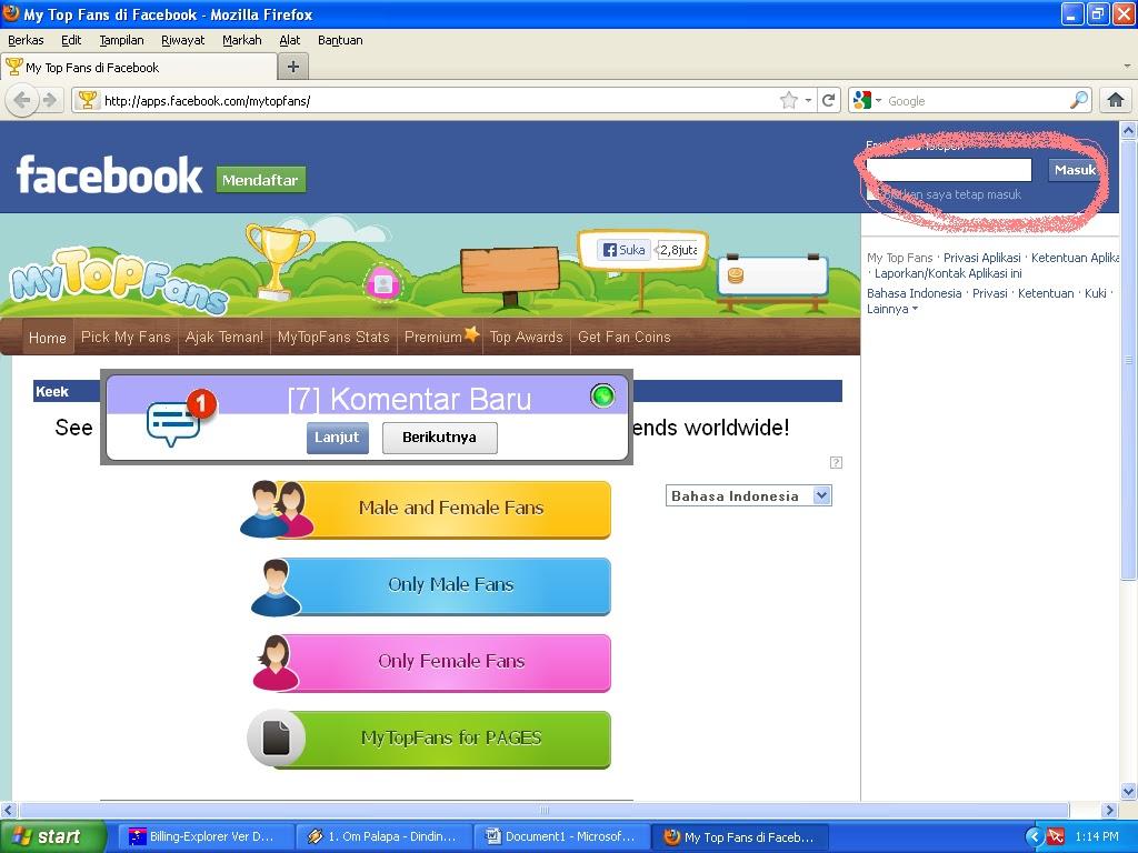 Mei 2013 Trik FB Terbaru